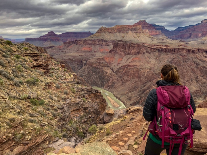 Grand Canyon-South Kaibab to Bright Angel