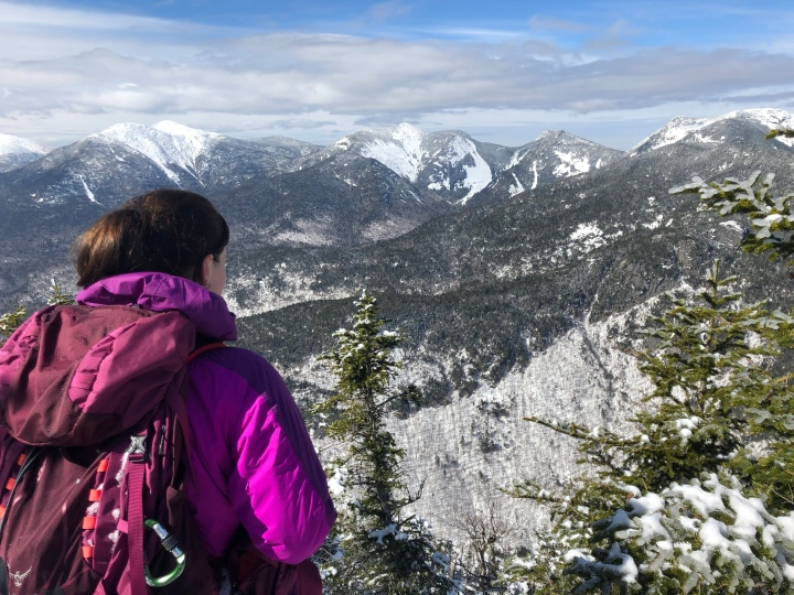Snowshoeing in the Adirondacks: Mount Colvin. Blake, Street, and Nye